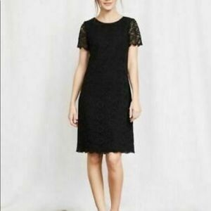 NWT Boden Black Lace Harriet Dress, size US 10R